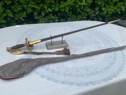 Épée De Général Avec Dragonne Second Empire 3 République Coulaux Klingenthal - Knives/Swords