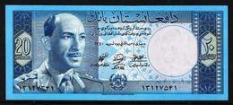Afghanistan 1961 Billet 20 Afghanis Pick 38 Neuf 1er Choix UNC - Afghanistán