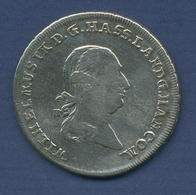 Hessen-Kassel 1/2 Reichstaler 1789 F Wilhelm IX., Schütz 2107.1, Ss (m2421) - [ 1] …-1871 : Stati Tedeschi