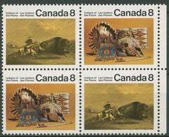 Kanada 1972 Kunsthandwerk Der Prärie-Indianer 500/01 X ZD Postfrisch - Neufs