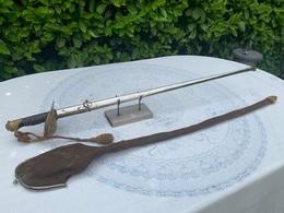 Sabre D Officier Garde à Décor De Quatre étoiles. Coulaux Klingenthal Dragonne - Knives/Swords