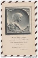 3AD1111  IMAGE PIEUSE LETAILLE  1909 YVONNE GUIRRIEC   SAINT BRIEUC 2 SCANS - Images Religieuses