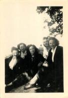 AUBURE SANATORIUM LES BRUYERES PHOTO ORIGINALE  1949 FORMAT  9 X 6.50 CM - Lieux
