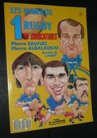 Rare Livre Illustré Par Paret De Caricatures Les Numéros 1 Du Rugby Salviac 1987 - Rugby