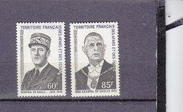 AFARS ET ISSAS 375/376 DE GAULLE LUXE NEUF SANS CHARNIERE - Afars Et Issas (1967-1977)