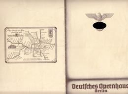 """DEUTSCHES OPERNHAUS BERLIN 1937 - 14 Seitiges Programmheft """"DIE REGIMENTSTOCHTER"""", Format 24 X 16 Cm ... - Programma's"""