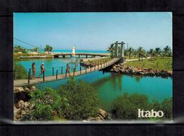 Kuba , Cuba - ITABO - Puente Colgante Del Hotel Itabo - Kuba