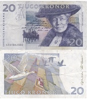 Sweden - 20 Kronor 1994 - VF Lemberg-Zp - Suecia