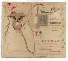 94372) CALENDARIETTO DEL 1902-ALMANACCO E. FRETTE& C. - Tamaño Pequeño : 1901-20