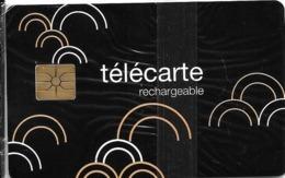 CARTE-PUCE-RECHARGEABLE--CC-FT5-02/10-DEMI CERCLES-Exp 31/12/11-NSB-TBE-RARE - France