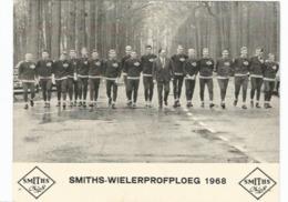 Ploegfoto Wielrennen Smiths 1968 - Ciclismo