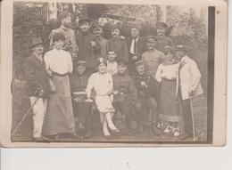 62 - VILLERS AUX BOIS - CARTE PHOTO - PIECE DE THEATRE JOUEE PAR LES PRISONNIERS DU CAMP 338 - France