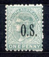 South Australia - Südaustralien 1891 - Michel Nr. Dienst 22 * - 1855-1912 South Australia
