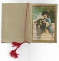 94373) CALENDARIETTO DEL 1916-RISTORANTE BIANCHI -MILANO-DONNE CON FIORI - Calendars