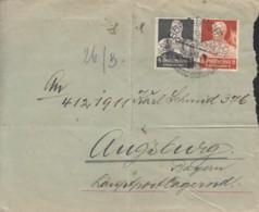 DR 557, 560 MiF, Auf Brief Mit Stempel: Bönnigheim 25.2.1935 - Germany