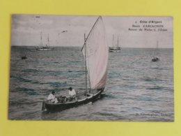 33 ARCACHON- RETOUR DE PECHE A L'OCEAN CARTE COLORISEE  &18/05/20& - Arcachon