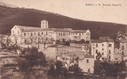 Cartolina Eboli (Salerno) - R. Scuola Agraria. - Salerno