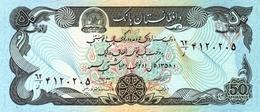 Afghanistan 1979 Billet 50 Afghanis Pick 57a Signature 2 Neuf 1er Choix UNC SH1358 - Afghanistán