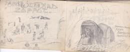 Zoppot - Bleistift Zeichnungen Aus 1905 - Heftchen Mit Mehreren Blättern - 12*8cm  (50145) - Otras Colecciones