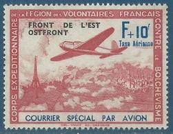 1941 - LVF - Légion Des Volontaires Français Contre Le Bolchevisme - N°5 Neuf Sans Gomme - Wars