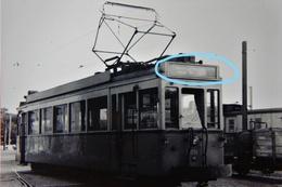 PHOTO TRAM 67 CHARLEROI RANSART FLEURUS  NAMUR REPRO - Tranvía