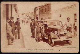 Postal AMARELEJA Rua Boa Vista / Carro Antigo. Edição Foto Zambrano / Ocogravura (MOURA / BEJA / ALENTEJO) PORTUGAL - Beja