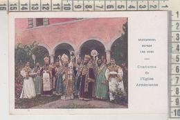 ARMENIA COSTUME DE L'EGLISE ARMENIENNE NO VG - Armenia