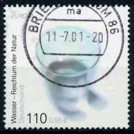 BRD BUND 2001 Nr 2185 Zentrisch Gestempelt X6DB4BE - [7] República Federal