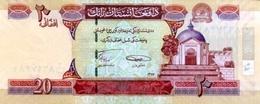 Afghanistan 2008 Billet 20 Afghanis Pick 68d Neuf 1er Choix UNC SH1387 - Afghanistán