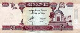 Afghanistan 2016 Billet 20 Afghanis Pick 68f Neuf 1er Choix UNC SH1395 - Afghanistán