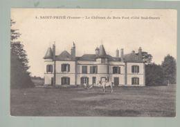 CPA (89) Saint-Privé - Château Du Bois Fort - Côté Sud-ouest - France