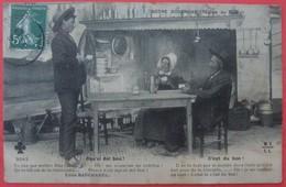 NOTRE AUVERGNE 15 CANTAL - Oqu'oi Del Bou C'est Du Bon -Régionalisme Folklore Costume Ferme Texte Patois - France