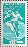 BRAZIL - CHILE'62 FIFA WORLD SOCCER CUP AND BRAZIL TWO TIMES WORLD CHAMPION 1963 - MNH - Fußball-Weltmeisterschaft