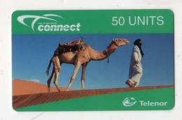 NORVEGE RECHARGE TELENOR 50 U CHAMEAU Exp.date 02/99 MINT - Noorwegen
