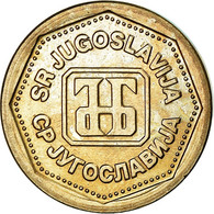 Monnaie, Yougoslavie, Dinar, 1993, TTB, Copper-Nickel-Zinc, KM:154 - Yugoslavia