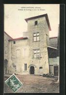 CPA Lens-Lestang, Chateau De Lestang, Le Donjon - France