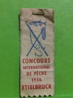 Luxembourg, Ettelbruck  Concours International De Pêche 1956 - Autres