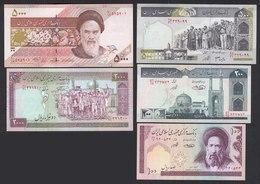 IRAN 100,200,500,2000,5000 Rials Banknoten UNC (1)  (,19755 - Billetes