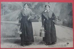 16 EN CORRÈZE - En Montant Il Y A De La Peine - Régionalisme Femmes Fantaisie Texte En Patois - France
