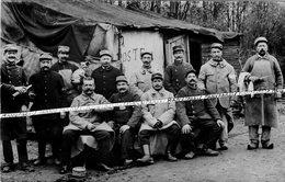 77 EMERAINVILLE / CARTE PHOTO / 1914 - 1918 / GARE / GVC / 35e RIT ( MELUN ) / 35e RÉGIMENT D' INFANTERIE TERRITORIALE - Other Municipalities
