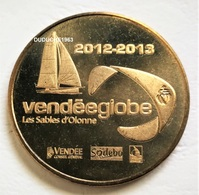 Monnaie De Paris 85.Sables D'Olonne - Vendée Globe 2012 - Monnaie De Paris