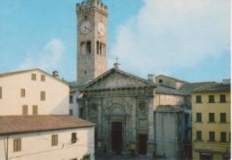 POGGIBONSI - CHIESA COLLEGIATA E CAMPANILE TORRE OROLOGIO - NON VIAGGIATA - Italia