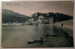 Tropea (Vibo Valentia) - Porto - 1932 - Animata, Barca, Boat, Canoe, Bateau - Italy