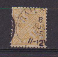 GERMANIA ANTICHI STATI WURTTEMBERG  1881    SERVIZIO  CIFRE CONTRAPPOSTE UNIF.14  USATO VF++++++++ - Wurtemberg