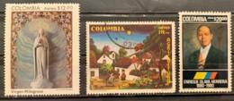 COLUMIBA  - (0)  - 1980 - # C689/691 - Colombie