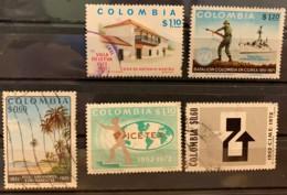 COLUMIBA  - (0)  - 1972 - # 802/804, 809/810 - Colombie