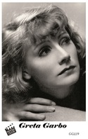 GRETA GARBO (PB19) - Film Star Pin Up PHOTO POSTCARD - Pandora Box Edition Year 2007 - Femmes Célèbres