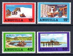 ANGUILLA - 1969 SALT INDUSTRY SET (4V) GOOD MOUNTED MINT MM * SG 49-52 - Anguilla (1968-...)