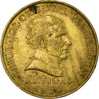 Monnaie, Uruguay, 10 Centesimos, 1960, TTB, Nickel-brass, KM:39 - Uruguay