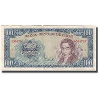 Billet, Chile, 100 Escudos, KM:141a, TTB - Chile